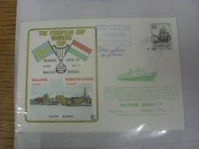 08/03/1975 Commemorative Cover: Malmoe v Ferencvaros [European Cup Winners Cup]