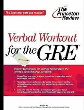 Verbal Workout for the GRE Exam (Princeton Review Series)