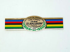 Ti Raleigh team World champion 1977-78 Foil decal sticker for seat tube NOS