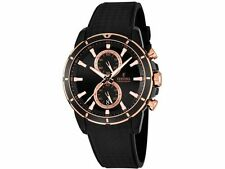 New Festina F16852/1 Mens Watch Rose Gold Accents Chrono Sport