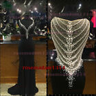 2015 Long Chiffon Evening Formal Party Ball Gown Prom Bridesmaid Dress Wedding