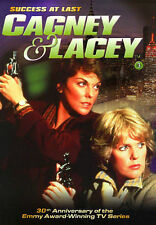 CAGNEY AND LACEY - SEASON 3, PART 1 - DVD - LIKE NEW!!! NEVER PLAYED!!!