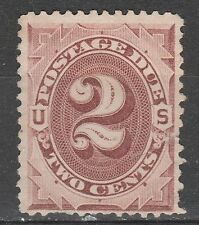 USA Scott #  J 16 Postage Due 2 Cent Red Brown used (J16-4)