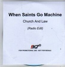 (BR364) When Saints Go Machine, Church And Law  - DJ CD