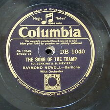 78rpm RAYMOND NEWELL song of the tramp / devil may care