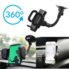 360°Universal Car Mobile Phone Windscreen Suction Mount Dashboard Holder GPS PDA