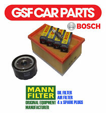 Service Kit Oil Air Filters & Spark Plugs Renault Kangoo Express 1.6 16V