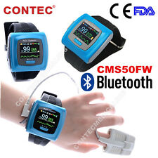 CMS50FW Wrist Pulse Oximeter Bluetooth SPO2 Pr Heart Rate Monitor Sleep Study+SW