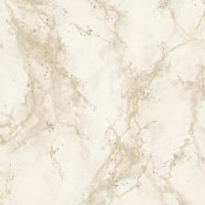 Wallpaper Rasch - Strata Faux Marble Effect - Metallic Glitter - Gold - 317817
