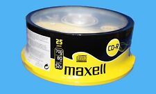 25x cdr MAXELL vierge disques cd-r enregistrables cd 80 min 52X 700MB disc