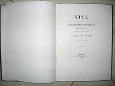 T344-VITE DI GENTILUOMINI VENEZIANI DEL SECOLO XVI A.ZILIOLI