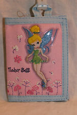 NEW WITH TAGS TINKERBELL  DISNEY  PINK  TRIFOLD  WALLET