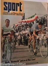 SPORT ILLUSTRATO N 32 6 agosto 1959 Noe Conti Baldini e Zandvoort Maspes Faggin