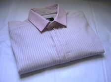 D&G DOLCE & GABBANA  MENS BUTTON DOWN FITTED DRESS SHIRT SIZE EU 46
