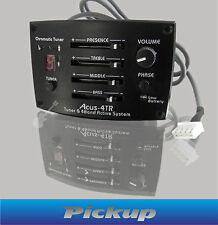 Piezo Pickup Acus-4TR für Akustik- und Westerngitarre - 5 Band EQ