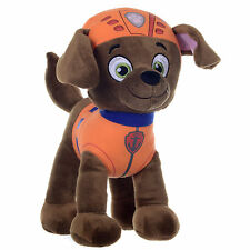 "NEW OFFICIAL 12"" PAW PATROL ZUMA PUP PLUSH SOFT TOY NICKELODEON DOGS"