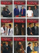 Supernatural Seasons 4-6 Complete Disguises Chase Card Set D1-9