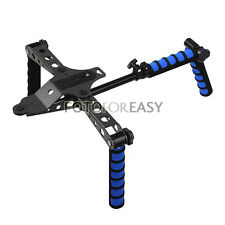 DSLR Rig Movie Kit Shoulder Mount For Canon 5D Mark II III 7D 550D 600D Camera