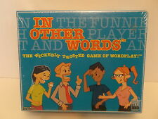 IN OTHER WORDS the WICKEDLY TWISTED GAME of WORD PLAY BRAND NEW SEALED