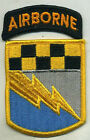 US ARMY 525th Military Intelligence Brigade Airborne Color Patch