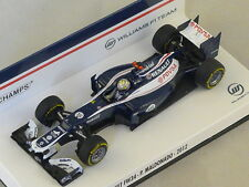 MINICHAMPS 410120018 - Williams Renault FW34 F1 Pastor Maldonado 2012 N°18 1/43