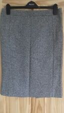 Warehouse - Wool Mix Panelled Pencil Skirt - Size 14
