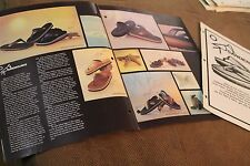 SANDERLINGS 1979 Sandals Surfing Skateboarding 2pc. Price List + ad sheet