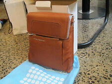 Piquadro Light tan Up2Date Organized vertical tote bag w/ flap CA1441UP/CU