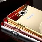 Ultra-thin Mirror Aluminum Metal Case Cover For Samsung Galaxy G5308 S5 S6 Edge