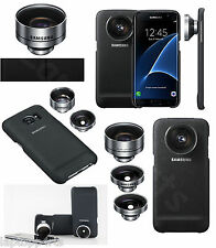 Genuine Samsung Portable Lens Case Cover Kit Telephoto For Galaxy S7 Edge Black