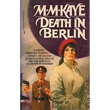 DEATH IN BERLIN M. M. Kaye PB 1986 K2-2