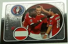 573 AUSTRIA team shiny Panini Euro 2016 France sticker Osterreich