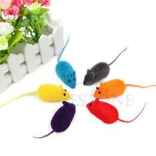 Dogs Pets Supplies Fun Sound Chew Toy False Mouse Rat Cat Kitten Dog Puppy