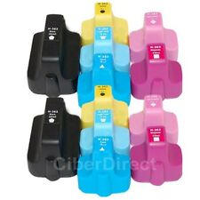 12 x CiberDirect Replacements for HP 363 printer ink cartridges. VAT Invoice.