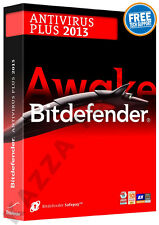 BITDEFENDER ANTIVIRUS PLUS 2013 - 1 PC USER - 1 YEAR - License FREE 2015 Upgrade