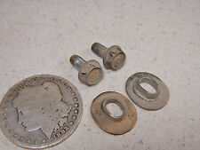 75 HONDA XL250 REAR INNER FENDER MOUNTING BOLTS & CRUSH WASHERS