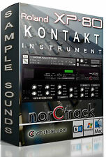 ROLAND XP80 Samples Sounds NI KONTAKT NKI  norCtrack XP-80 Kontakt Instrument