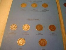 1857 THRU 1909 FLYING EAGLE INDIAN HEAD CENT PENNY COLLECTION BOOK