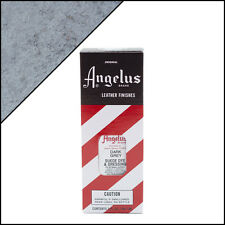 Angelus Brand Dark Grey Suede Dye & Dressing with Applicator in 3 Fl. Oz.