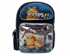 "Despicable Me 2 Minion School Large 16"" inches Backpack - Don't Move - Licensed"