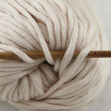 Sale New 1 Skein x50gr Soft 100% Cotton Chunky Super Bulky Hand Knitting Yarn 31