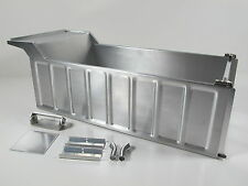 Aluminum Dump Bed Tub Conversion Kit Tamiya 1/14 RC Semi King Grand Hauler Truck