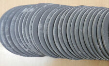 Pack of 10 6.4 cm Genuine Welsh Slate Fridge Magnet Coaster Raw and Unfinished.