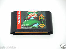 TURTLES TOURNAMENT FIGHTERS Sega Genesis videogame cartridge