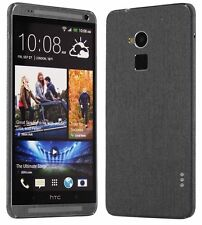 Skinomi Full Body Brushed Steel Skin+Screen Protector for HTC One Max