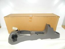 New OEM 2002-2007 Ford Focus Center Console Cup Holder Panel Gray Grey