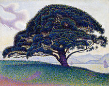 Signac Paul The Bonaventure Pine Print 11 x 14   #5077