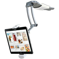 CTA 2-in-1 Kitchen Mount Stand for iPad / Ipad Air and Tablets Adjustable holder