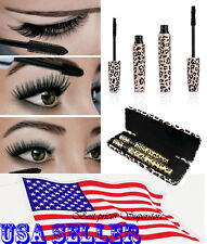 3D Fiber Eyelash Mascara Extension Love Alpha Black Lash Gel & Natural Fiber NEW