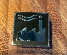 Black Factory Records Fac US 120 Badge. Fac51 Tony Wilson Joy Division New Order